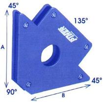 Escuadra Sujetador Magnetico Soldar 22kg 8 Piezas Mayoreo