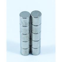 Iman Neodimio De 10 X 10 Mm Con 10 Piezas Super Potentes