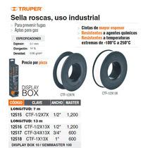 Cinta De Teflon 1 13 M Uso Industrial