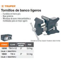 Tornillo De Banco Ligero 4-1/4 Hierro Gris