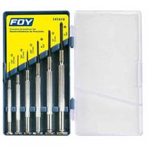Juego 6pz Destornilladores De Precisión + Y - Foy 141616 Hm4