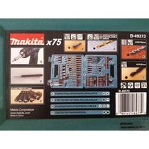 Set De 75 Piezas Para Atornillador Y Taladro, Makita B-49373