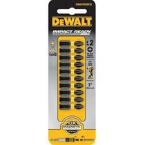 Juego De 10 Puntas Phillips Ph2 De 1 In Dewalt Dwa1ph2ir10