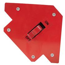 Escuadra Magnética Para Soldar Con Interruptor De 55 Lbs