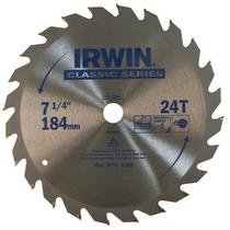 Disco De Sierra Para Madera 7 Y 40d Irwin Modelo 15230
