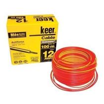 Rollo De Cable Thw Calibre 12 Awg Rojo