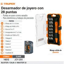 Desarmador De Joyero Con 28 Puntas De Precisión Truper