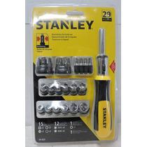 Juego De Desarmador Y Puntas Stanley 54-925