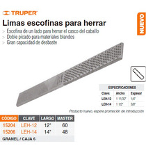 Lima Escofina P/herrrar De 12