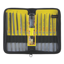 Set De Lima Y Agujas Suizo 12 Natural General Tools