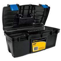 Caja Herramientas 19 Pulgadas Con Broche Azul Pretul 20538