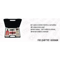 Kit De Instalacion Conectores A Compresion Bnc, Rca Y Tipo F