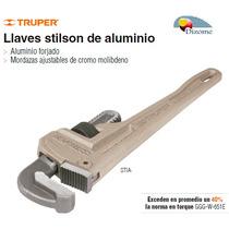 Llave Stilson De Aluminio De 10 Truper Dizome