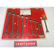 Craftsman 10 Llaves Matraca Milimetricas