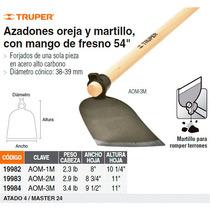 Azadon Oreja Y Martillo No. 1 Con Mango