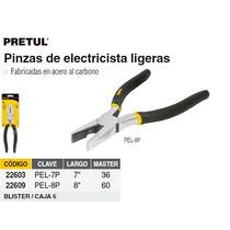 Pinza Ligera De Electricista 7 Pretul