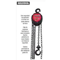 Polipasto Manual Uso Industrial Urrea Garrucha Oferta
