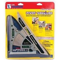 Escuadra Triangular Con Pivote C.h. Hanson 03060 Pivot Squar