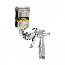 Pistola Mini De Gravedad Con 3 Controles A692 Adir