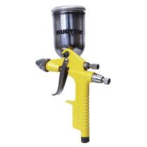 Pistola Pintar De Retoque Vaso Aluminio 200ml 50 Psi Surtek