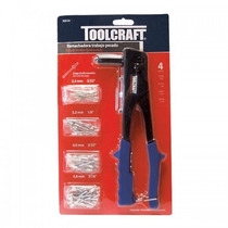 Kit De Remachadora Con Remaches Toolcraft