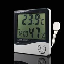 Termómetro Digital, Medidor De Humedad, Reloj Y Calendario
