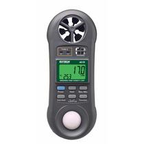 Medidor De Luz 4 En 1 Extech 45170 Hygro-thermo-anemometer