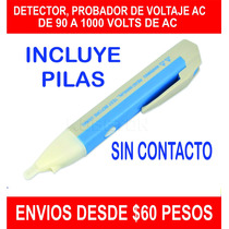 Detector, Probador De Voltaje Ac De 90 A 1000v Sin Contacto