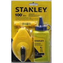 Carrete De Cuerda De Tiza 30m Stanley 47-443