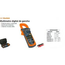 Multimetro De Gancho Truper Industrial