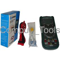 Multímetro Con Detector De Voltaje Steren Mul- 287