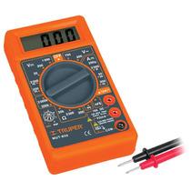 Multimetro Digital De Tipo Escolar Truper 10400