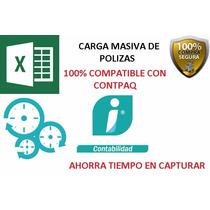 Polizas Carga Masiva A Contpaq Version Marzo 2016