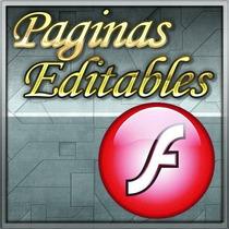 Paquete De Plantillas Flash Web Templates Editables Nf4