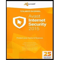 Avast Internet Security Suite 2015 1 Año 1 Equipo