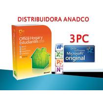 Office 2010 Hogar Y Estudiantes 3 Pc 32/64 Bits- Caja Sellad