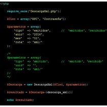 Descarga Masiva De Xml Del Portal Del Sat En Php (libreria)