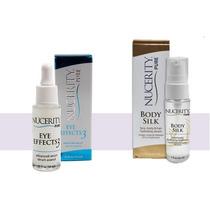 2 Eye Effects & 2 Body Silk Trial Size 1oz Nucerity + Envio