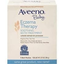 Aveeno Bebé Eczema Terapia Tratamiento Calmante Baño Del Beb
