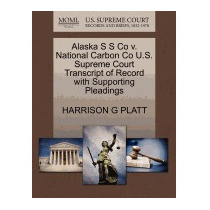 Alaska S S Co V. National Carbon Co U.s., Harrison G Platt