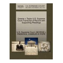 Greene V. Taylor U.s. Supreme Court, George L Paddock