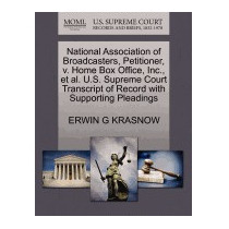 National Association Of Broadcasters,, Erwin G Krasnow