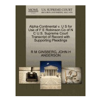 Alpha-continental V. U S For Use Of F E, R M Ginsberg
