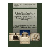 G. Seals Aiken, Appellant, V. William, Ben F Sweet