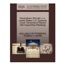 Rowbotham (ronald J.) V. United States, William E Rittenberg