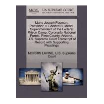 Mario Joseph Pacman, Petitioner, V. Charles, Morris Lavine