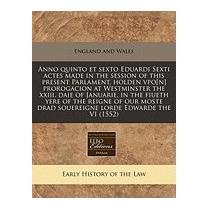 Anno Quinto Et Sexto Eduardi, England & Wales Sovereign