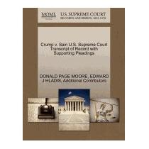 Crump V. Sain U.s. Supreme Court, Donald Page Moore