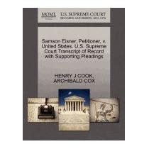 Samson Eisner, Petitioner, V. United States., Henry J Cook