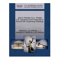 John C Winston Co V. Trimble U.s. Supreme, Marcellus Green